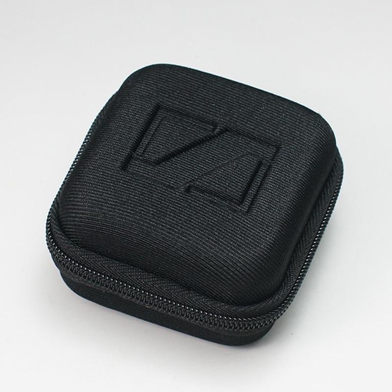 1PC Black Square Earphone Storage Box Portable SD Card Protection Box Earphone Carrying Box For Sennheiser CX6 Hard Case
