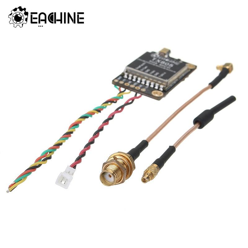 Eachine TX805 5,8G 40CH 25/200/600/800mW FPV transmisor VTX LED pantalla OSD /Pitmode/Smartaudio