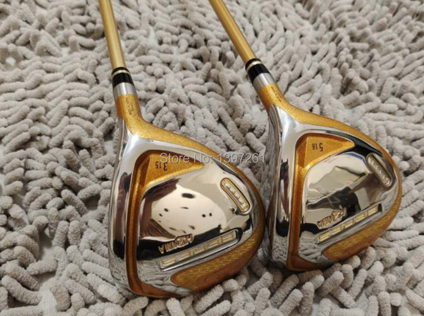 H533608189b7e4d44aeb22459dc787a095 New Golf Clubs HONMA S-07 Golf Complete Set Driver wood Irons Putter and Bag Clubs Set R or S Flex Graphite Shaft