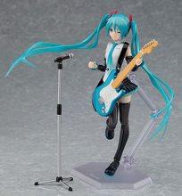 Miku v4x cantando versão anime 15cm figura de ação modelo brinquedos