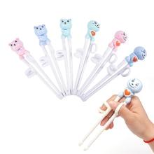 Chinese Chopsticks Kitchen-Accessories Learning Children Cute 18cm--3cm Kids 1pair Monk/bear