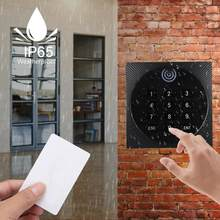 125KHz WG26 RFID Waterproof ID Password Keypad Card Reader Access Control System(China)