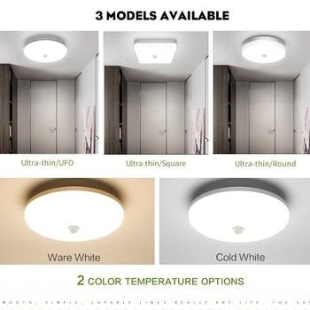 Led Plafond Verlichting Pir sensor Motion 36W plafond Lamp 3