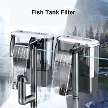 Фильтр для аквариума, внешний фильтр для аквариума, подвесной кислородный насос, погружной подвесной фильтр, аксессуары для аквариума
