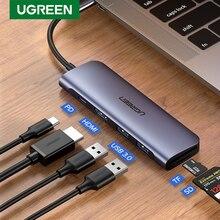 Ugreen Usb C Hub Type C Naar Multi Usb 3.0 Hub Hdmi Adapter Dock Voor Macbook Pro Huawei Mate 30 USB C 3.1 Splitter Poort Type C Hub