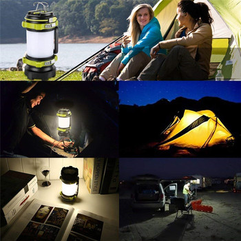 LED Torch and Camping lantern Rechargeable with usb water resistant