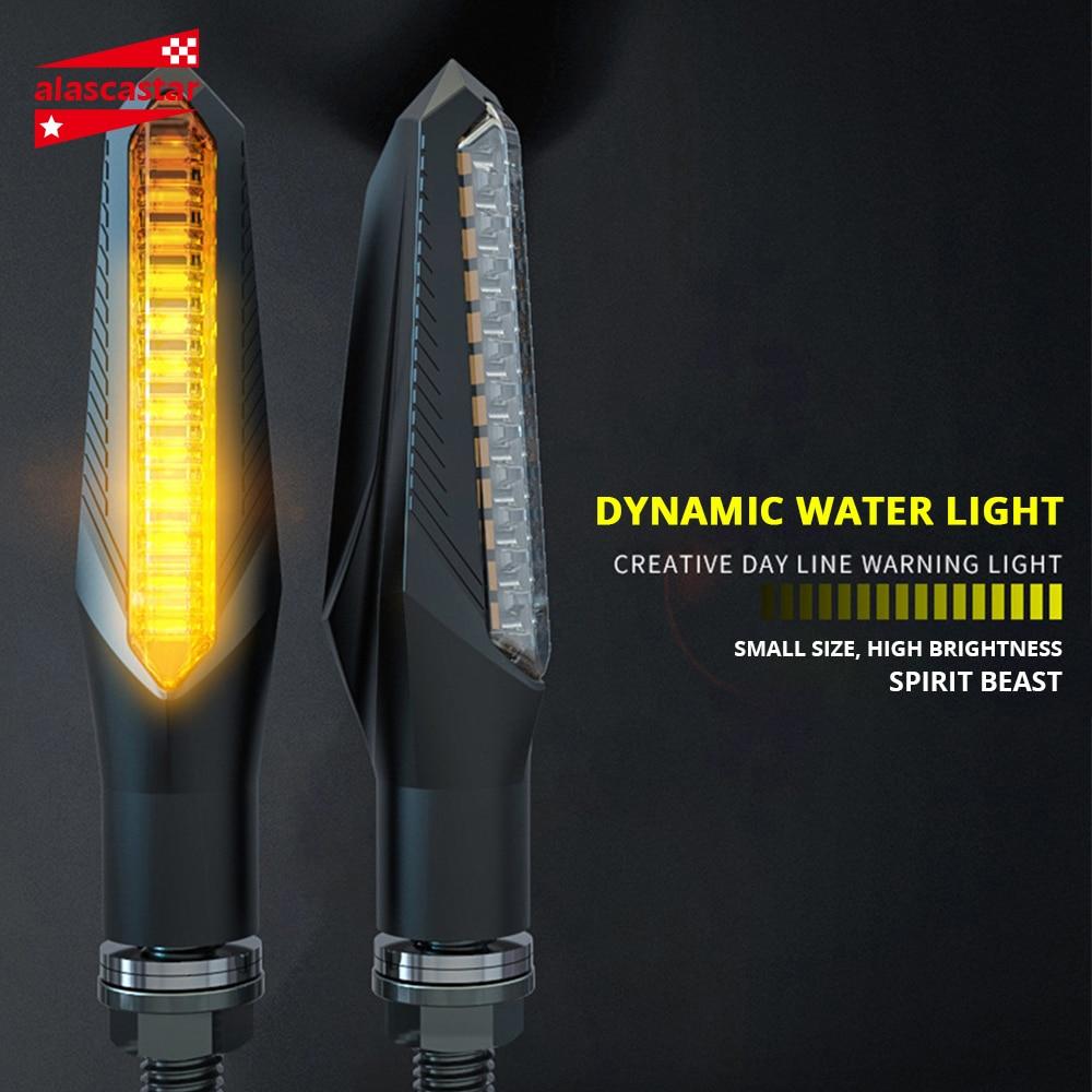 SPIRIT BEAST Waterproof Motorcycle Turn Lights Modified Car Turn Lights LED Direction Lights Decorative Lights#