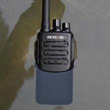 Retevis Walkie Talkie Digital RT81 DMR IP67, estación de Radio a prueba de agua UHF400 470MHz VOX, Radio bidireccional para granja, fábrica y almacén