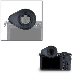 Image 5 - JJC Soft Eyecup Eyepiece Viewfinder Eyeshade for Nikon Z7 Z6 Z5 Z6II Z7II Camera Eye Cup Replaces DK 29 360 Degree Rotatable ABS