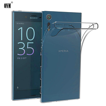 Case For Sony Xperia XZ XZS TPU Silicon Durable Clear Fitted Bumper Soft Case for Sony Xperia XZ Premium Transparent Back Cover