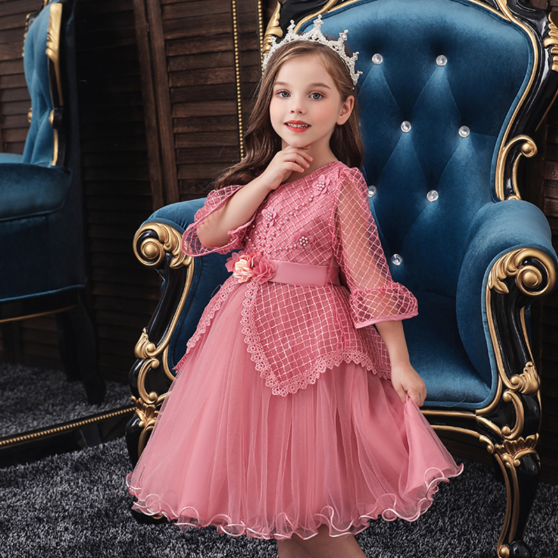 Vgiee Toddler Christmas Dress Girls Baby Clothes for 3 years Kid Children Princess Dresses for Wedding and Party Dress CC801