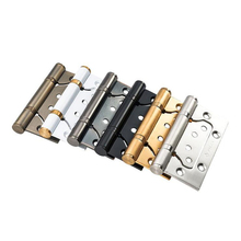 Stainless steel Lash hinge, ivory white European style wooden door hinges, 4 inch thicken hinges, home hardware stainless steel black hinges for door high quality mute bearing flat hinges 4 inch