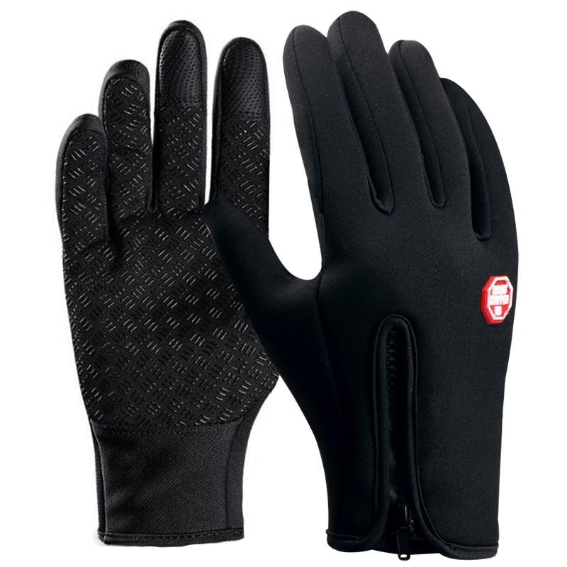 INBIKE Cycling Gloves MTB Road Bike Gloves Autumn Winter Touch Screen GEL Pads