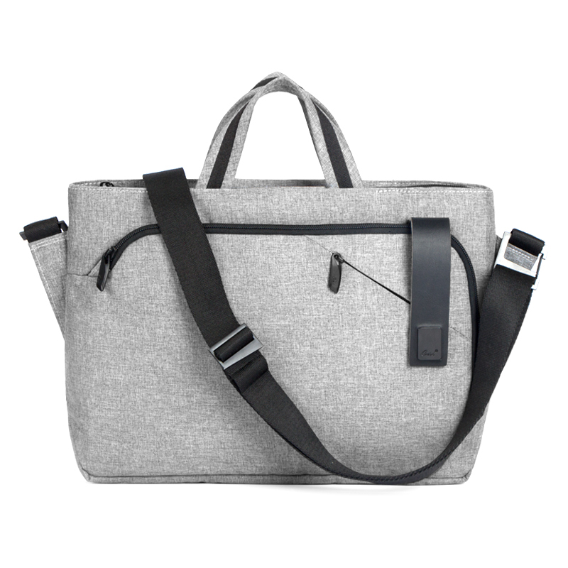 Cai Fashion Business Casual Laptop Bag Women Work Bags Waterproof Men's Handbag Shoulder Luggage Bag Female Hand Tote Bag