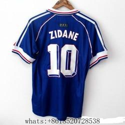 2021 new Vintage 1998 ZIDANE #10 HENRY #12 France T-shirt