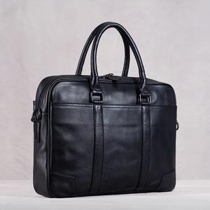 Genuine Leather Men Handbag Ma