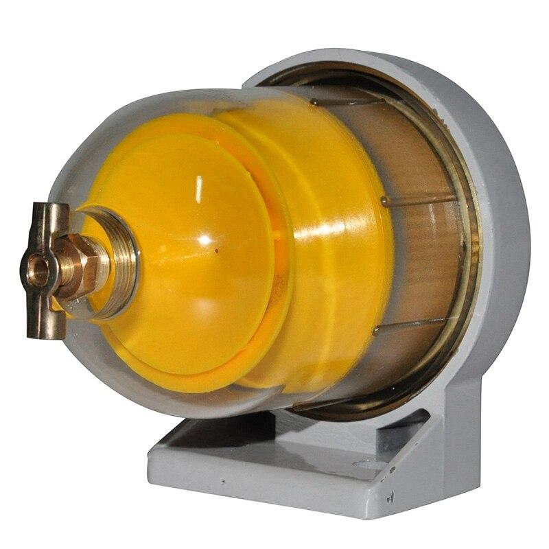 Filtro de combustible DAHL65 separador de agua y aceite filtro de combustible para barco separador de agua y combustible conjunto de filtro de combustible