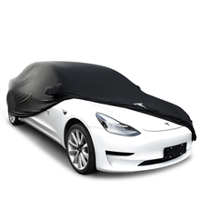 Car Cover for Tesla Model S Sun Anti Dust Rain Resistant Windproof High-resilience Protective Elastic Cotton Anti-dirt Models