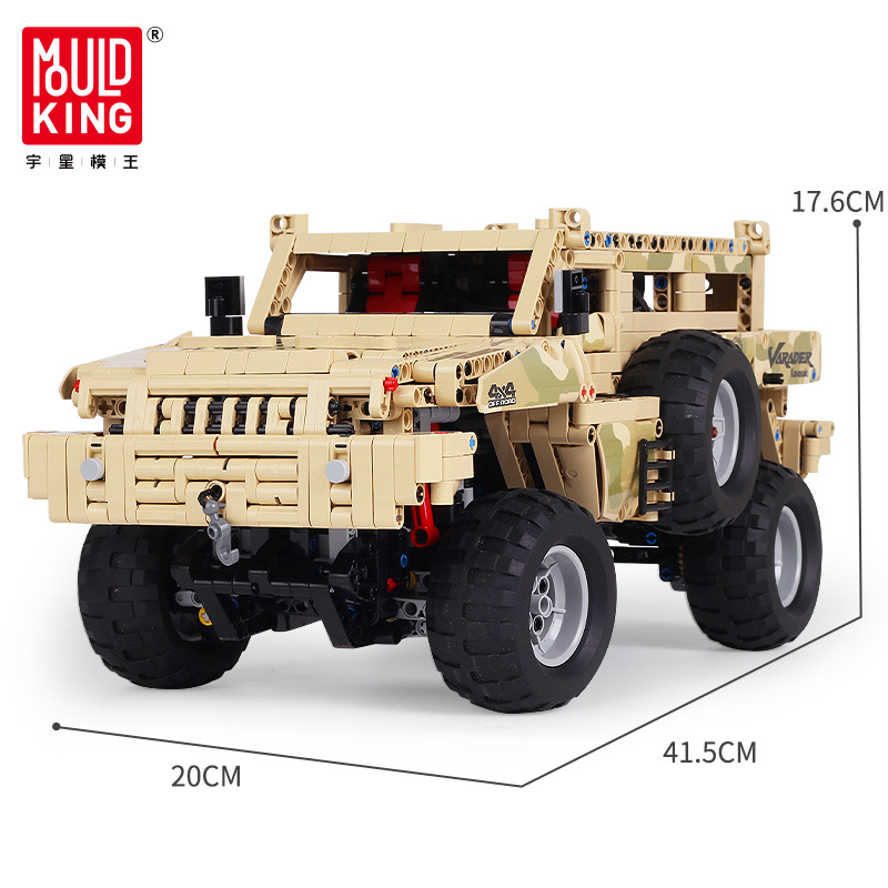 Mould King 13131 Marauder Truck APP RC motor Compatible Legoset Techinic MOC 4731 23007 Model Building Blocks Bricks Toy Gift