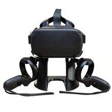 Беспроводной наушники с контроллером для Oculus Rift S очки виртуальной реальности Vr стенд Дисплей держатель и паяльная станция для Oculus Quest гарни...