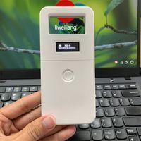 FDX-B Động Vật Thú Cưng ID Đầu Đọc Chip Transponder USB RFID Cầm Tay Vi Mạch Máy Quét Cho Chó Mèo Con Ngựa