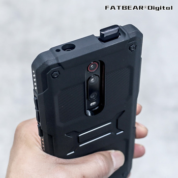 Перейти на Алиэкспресс и купить [Xiaomi K20 Pro Mi9T Mi 9T]FATBEAR Tactics Прочный противоударный армированный буферный военный чехол мягкий чехол