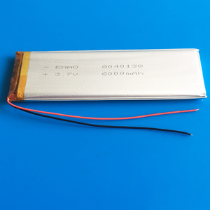 3.7V 6000mAh 8040138 Polymer L