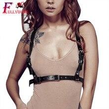 Сексуальные подвязки для тела, кожаные ремни, Эротика, пастельный Готический бондаж, Панк подтяжки, ремни для женщин, грудь, женские ремни, нижнее белье