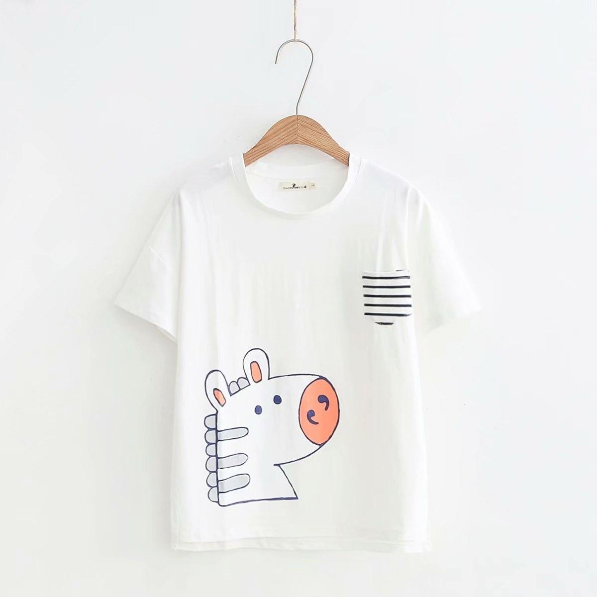2019 New T Shirt Short Sleeves T Shirts Summer  Cotton  T-shirt Plus Size