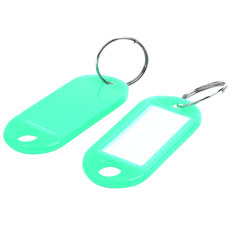 Key Ring Tags(100pcs Green)