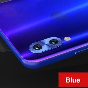 Image 4 - Pour Redmi Note 7 caméra lentille protecteur anneau placage aluminium pour Xiaomi Redmi Note 8 Pro Note 8T caméra couverture anneau Protection