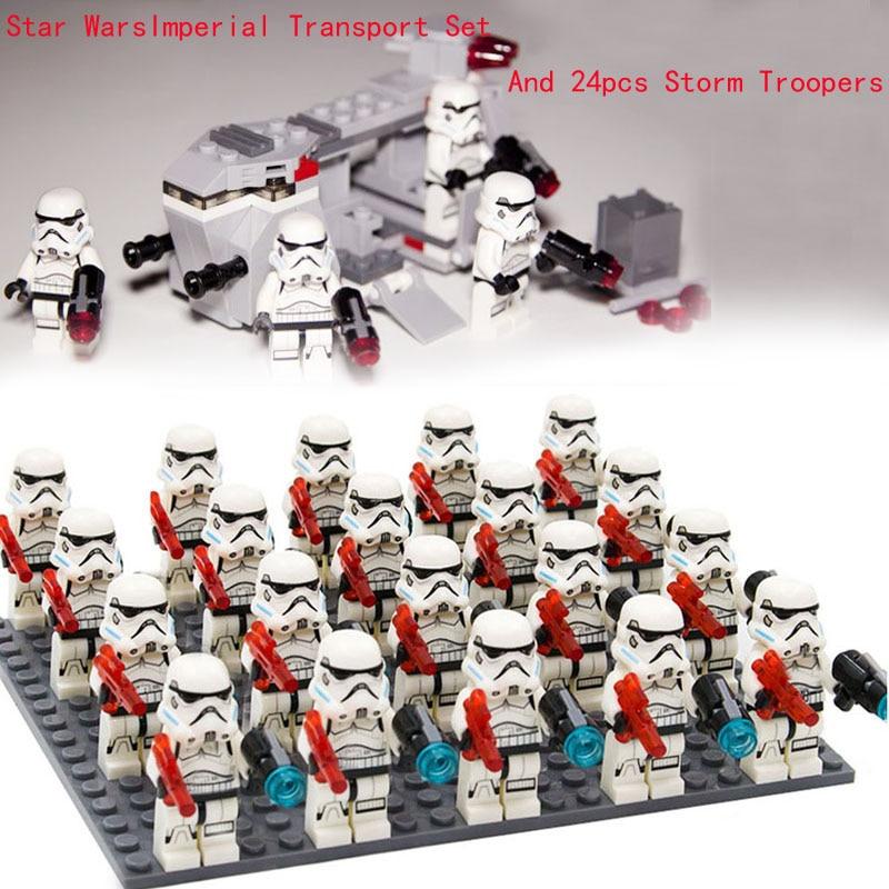 LEGO 75078 STAR WARS Imperial Troop Transport SEALED 4 Stormtroopers Battle Pack