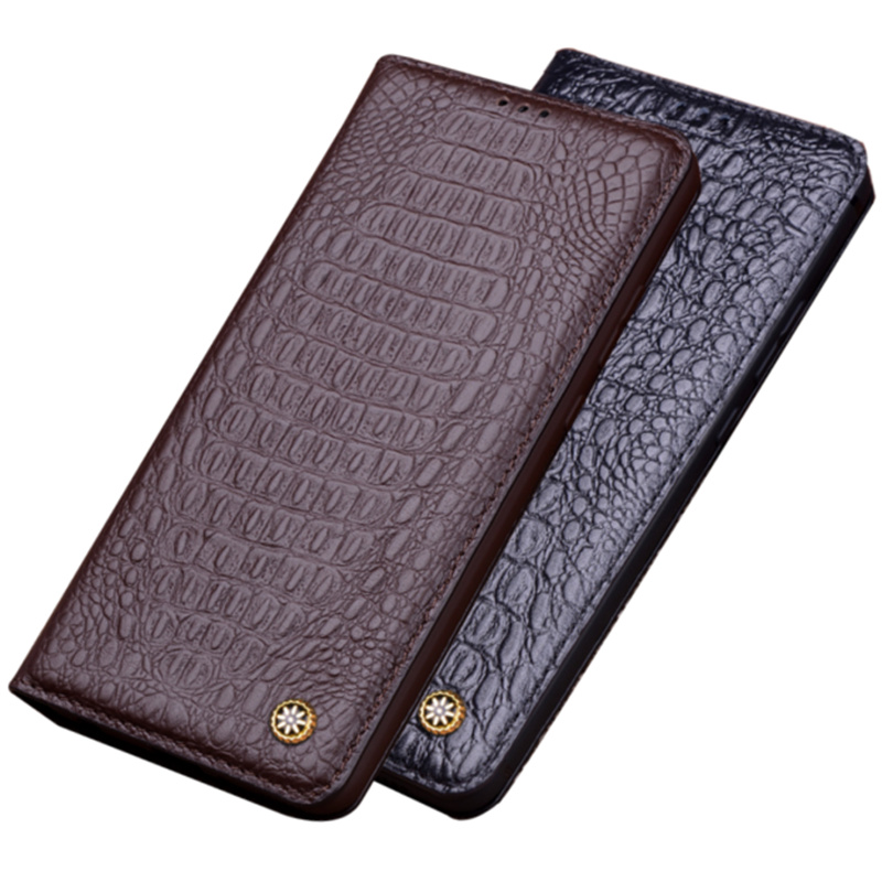 Genuine Real Leather Magnetic Phone holder Case For Samsung Galaxy S9 Plus/Samsung Galaxy S9 Ultra Thin Slim Flip Case Funda