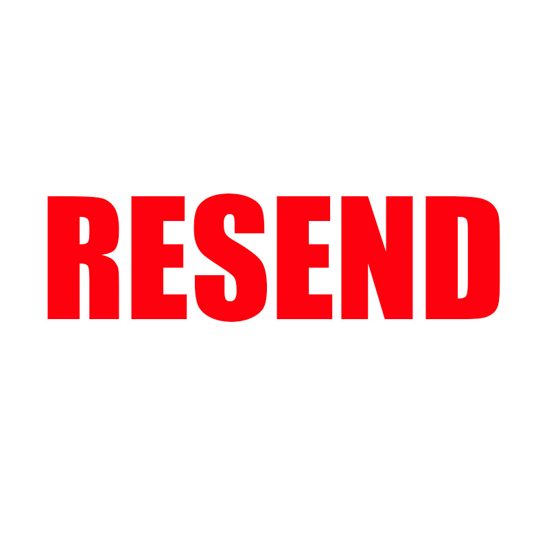 resend product please click this line to resend your order .