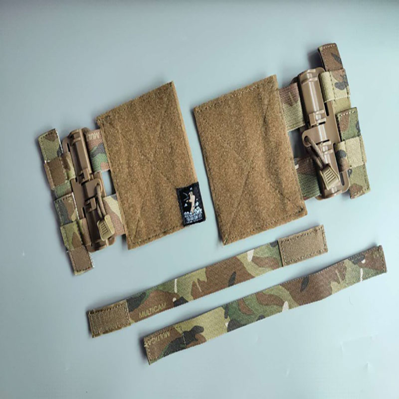 Tactical Single Point Quick Release Assembly For Vest Belly For Tactical JPC CPC NCPC 6094 XPC 420 Vest Fast Fit Buckle Set