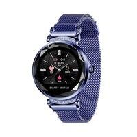 Lady H2 Smart Watch 3D Rhinestone Glass Heart Rate Blood Pressure Sleep Monito