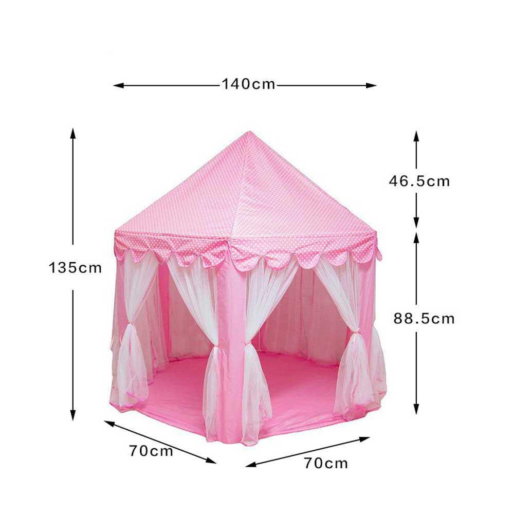 Tienda de campaña portátil para niños, tienda de campaña, juguetes para niñas, Castillo de princesa, Tipi, Casa Infantil, Tipi, regalo para bebés