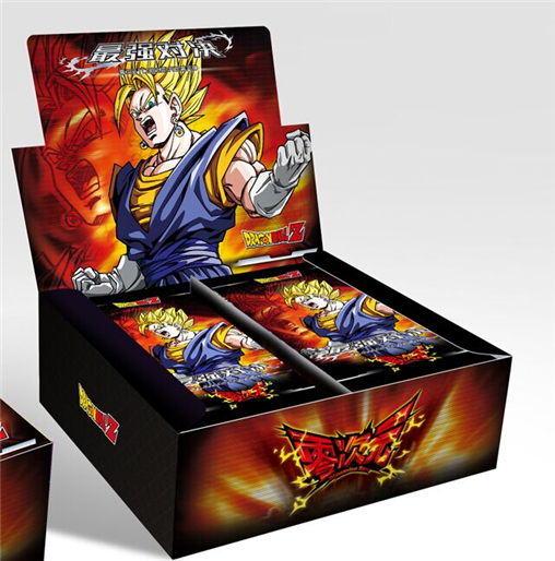 Original Dimension Zero DRAGON BALL Saiya 50-210Pcs/Pack TCG Game Cards Table Toys For Family Children Christmas Gift