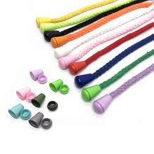 XUNZHE 100 шт 14 мм концы провода колокольчик пробка с крышкой замок красочная пластиковая застежка зажим Паракорд одежда сумка спортивная одежда части