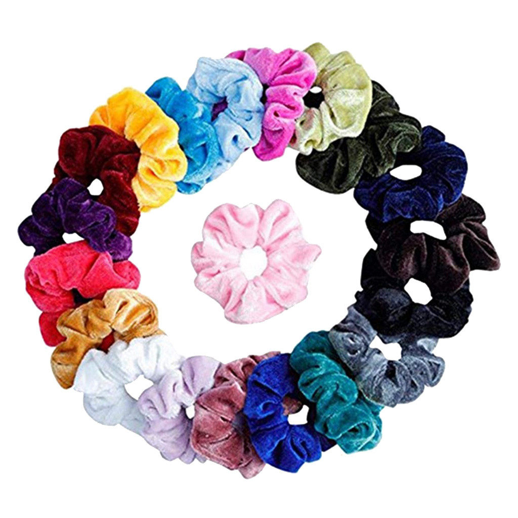 21pcs//set  Print Hair Accessories Bandana Scarf Square Female Bandanas Headwear
