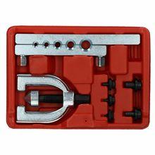 "Brake Pipe Flaring Tool for Single Double Flares 3/16"" - 1/2"" tube 5 Sizes"