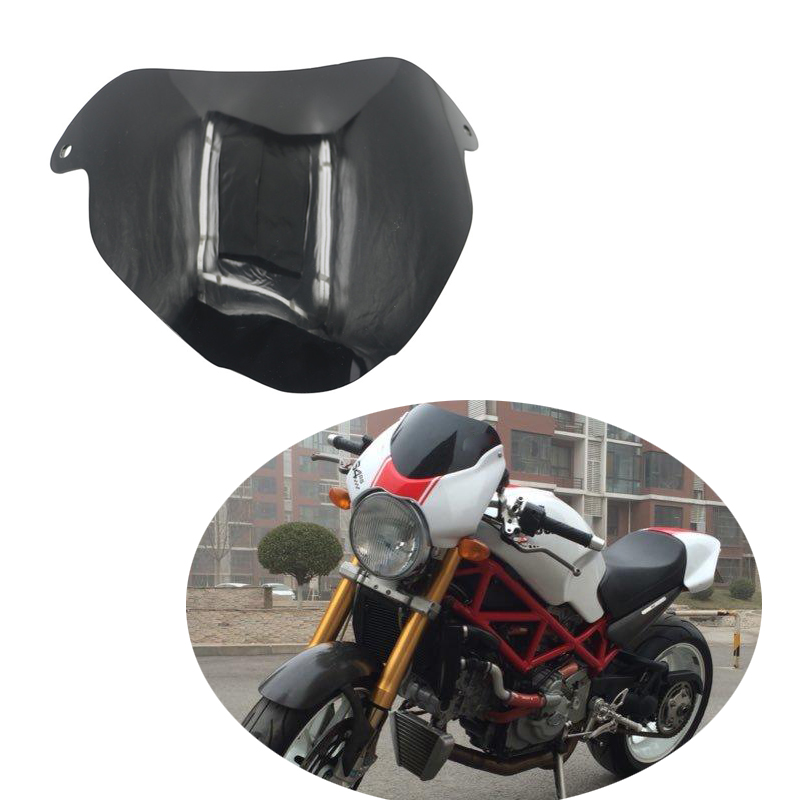 Windshield Windscreen For DUCATI MONSTER S4R MS4R 2003 - up S4RS MS4RS Motorcycle parts