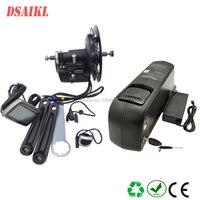 Coaster fren motoru Tsdz2 Tork Sensörü Kiti ile şişe ebike pil 36V 10Ah 12Ah ve 42V 2A şarj cihazı