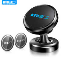 MEIDI Magnetic Car Phone Bracket 360 Rotation GPS Mobile Phone Metal mount Car Holder Stand for iPhone plus Samsung xiaomi