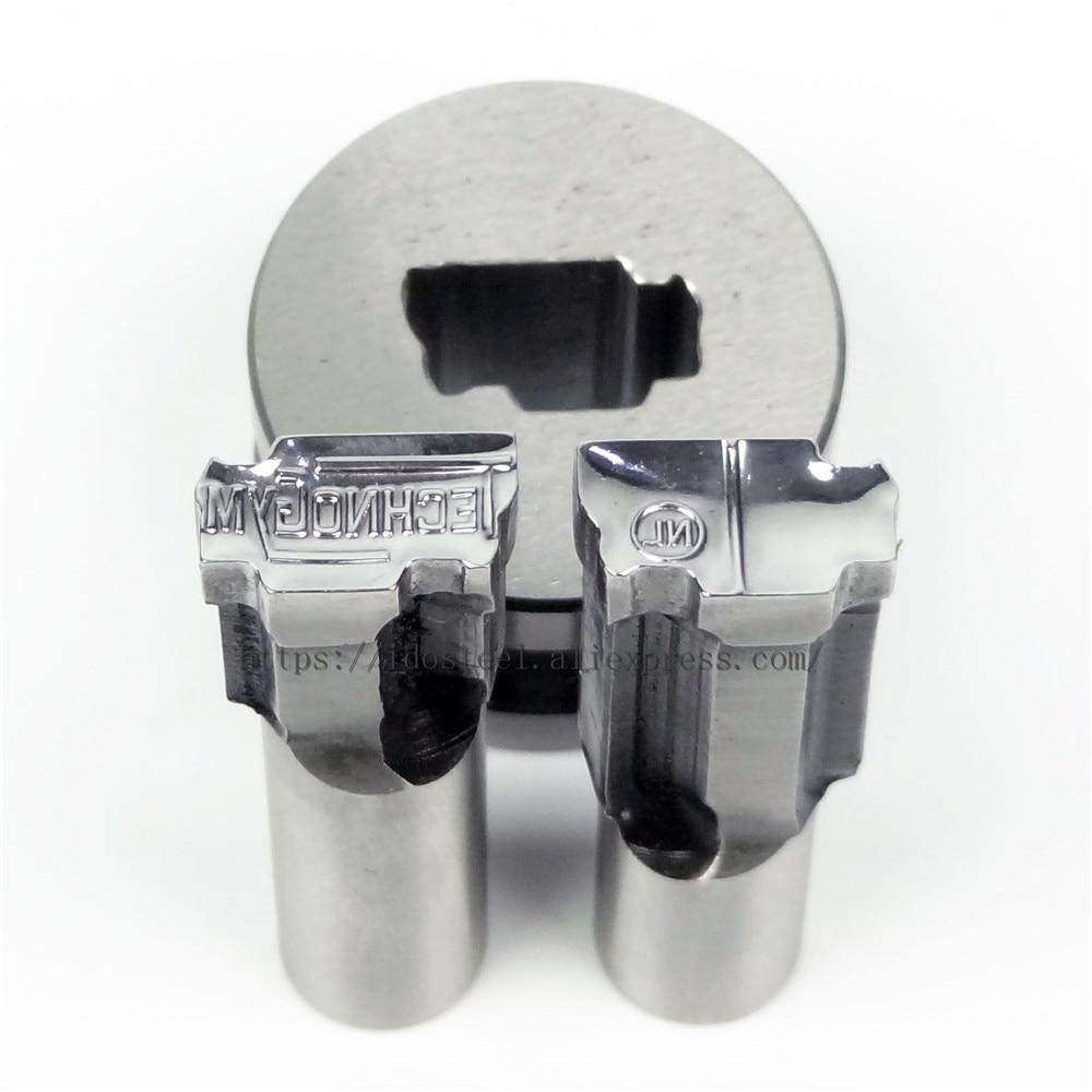 TECH NL дизайн планшет под давлением 3D удар Пресс пресс-формы, BateRpak конфеты вырубной штамп, таблетки кальция удар 13,44*7,55 мм, в наличии
