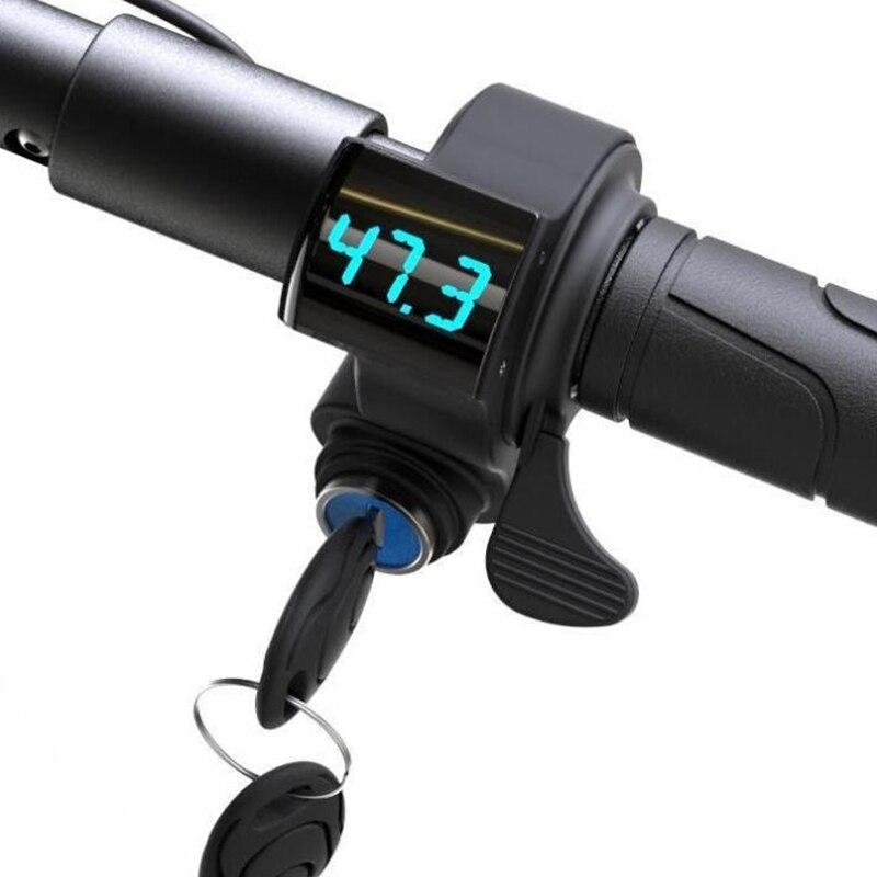 Accélérateur d'origine avec affichage de tension de clé pour Mercane roue large Scooter électrique intelligent accessoires Hoverboard Skateboard