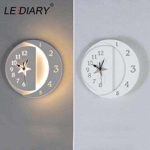 lediary 15w moon star chifres lampada de