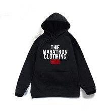Nipsey Hussle the Marathon Hoodies Autumn RIP Rapper Harajuku Sweatshirts Mens Clothing