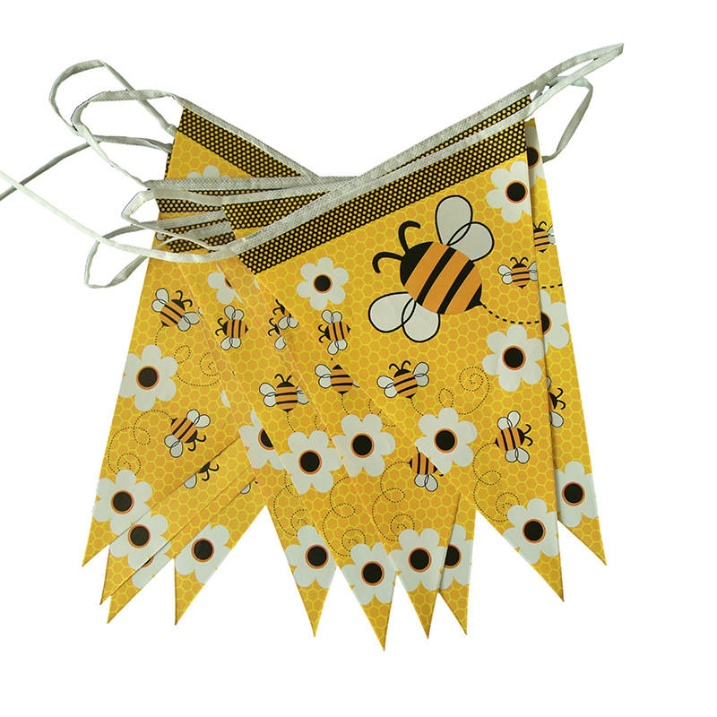 Admirable Oloey Bumble Bee Party Banner Bumble Bee Birthday Party Decor Personalised Birthday Cards Paralily Jamesorg