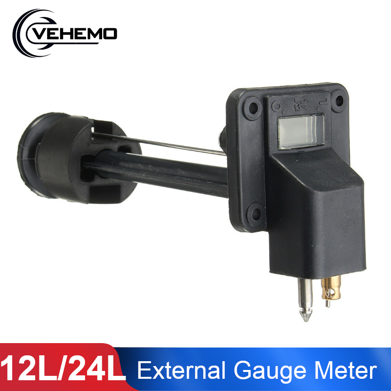 Universal Outboard Gauge Meter Assy For Yamaha Outboard Motor 12L 24L External Fuel Tank Marine  For Yamaha